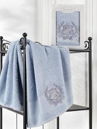 Полотенце Karna Davis, голубой