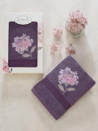 Полотенце Karna Opak, фиолетовый