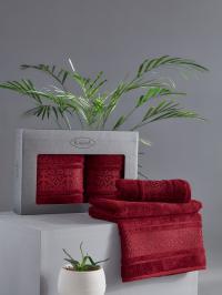 полотенец Karna Armond, бордовый
