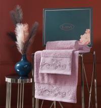 полотенец Karna Mira, грязно-розовый