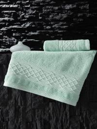 Полотенце Karna Gravit 70x140, зеленый