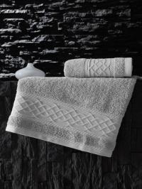 Полотенце Karna Gravit 70x140, серый