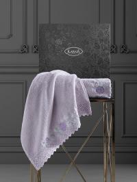 полотенец Karna Amora, светло-лавандовый