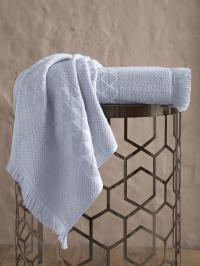 Полотенце Karna Monard 50x90, светло-серый