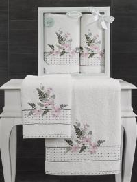 Набор махровых полотенец Karna Bondi V4