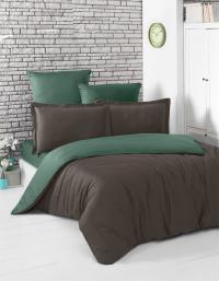 Karna Loft шоколадный-зеленый