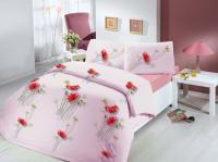 Постельное белье Altinbasak Nazenin, розовый
