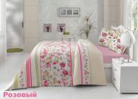 Постельное белье Altinbasak Melisa, розовый