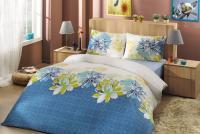 Постельное белье Altinbasak Destina, голубой