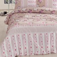 Постельное белье Altinbasak Misk, розовый