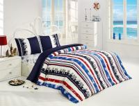 Постельное белье Altinbasak Marina, голубой