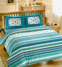 Постельное белье Altinbasak Nice, голубой