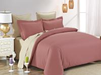 Постельное белье Karna Sanford, грязно-розовый-бежевый