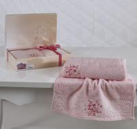 полотенец Karna Viola, светло-розовый