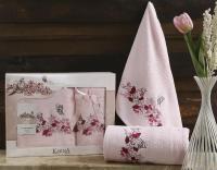 полотенец Karna Eva, светло-розовый