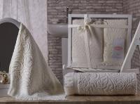полотенец Karna Esra, кремовый