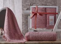 полотенец Karna Esra, розовый