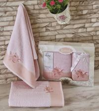 полотенец Karna Spray, светло-розовый