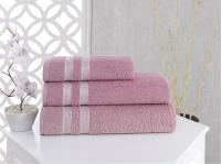 Полотенце Karna Petek 70х140 см, грязно-розовое