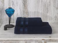 Полотенце Karna Petek 100х150 см, синее