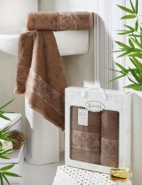 полотенец Karna Pandora, коричневый