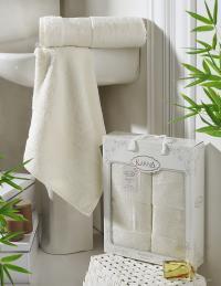 полотенец Karna Pandora, кремовый