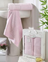 полотенец Karna Pandora, светло-розовый