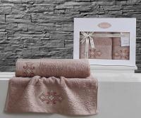 полотенец Karna Galata, грязно-розовый