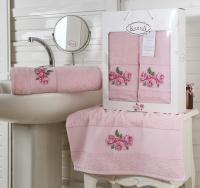 полотенец Karna Havin, розовый