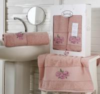 полотенец Karna Havin, грязно-розовый