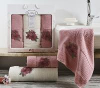 полотенец Karna Orkide, розовый арт. 2361/char004