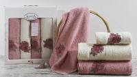полотенец Karna Orkide, розовый арт. 2362/char004