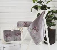 полотенец Karna Sandy, темно-серый 2390/char006