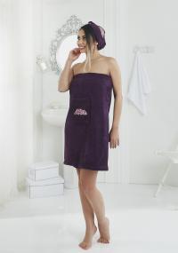 Набор для сауны Karna Pera, фиолетовый