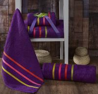 полотенец Karna Bale Neon, фиолетовый арт. 967/char002