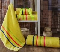 полотенец Karna Bale Neon, желтый арт. 967/char003