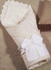 Одеяло-конверт KAZANOV.A. Бамбини, бежевый