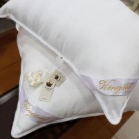 Шелковая подушка Kingsilk Premium 70х70, белый