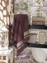 Набор из 4-х полотенец DO&CO Camellia 50х90 см