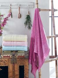 Набор из 4-х полотенец DO&CO Lavender 50х90