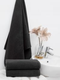 Набор полотенец Philippus Black для гостиницы 50х90 (12 шт.)