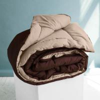 Одеяло Sleep iX MultiColor, бежевый/темно-коричневый