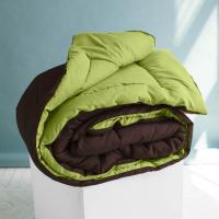 Одеяло Sleep iX MultiColor, салатовый/темно-коричневый