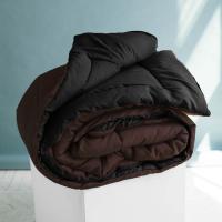 Одеяло Sleep iX MultiColor, темно-коричневый/черный