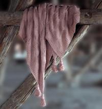 Плед Sofi De Marko Вязка, розовый