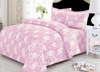 с одеялом Sofi De Marko Фронда, розовый