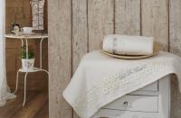 Набор из 2-х полотенец Sofi De Marko Masotis, кремовый