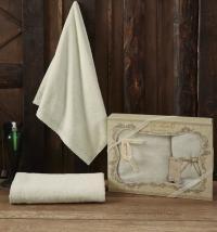Набор из 2-х полотенец Sofi De Marko Katia, кремовый