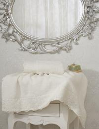 Набор из 2-х полотенец Sofi De Marko Linet, кремовый