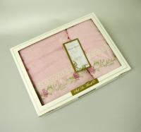 Набор из 2-х полотенец Sofi De Marko Melisa, розовый